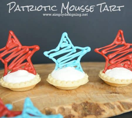 Patriotic Mousse Tarts
