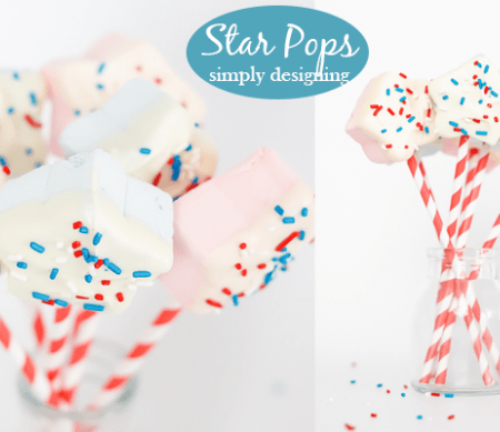 Star Marshmallow Pops