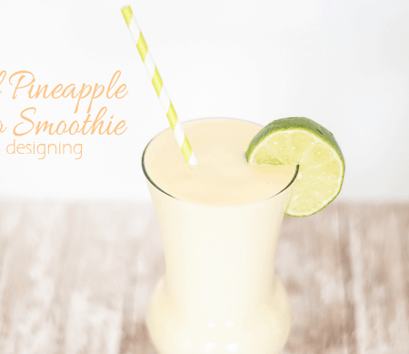 Tropical Pineapple Mango Smoothie