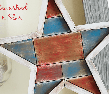 Whitewashed Barn Star