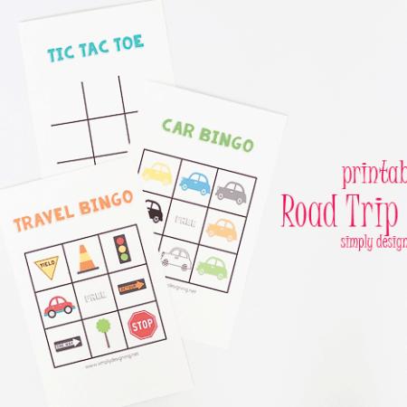Dry Erase Road Trip Games + Kids Travel Kit