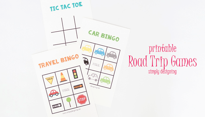 Dry Erase Road Trip Games + Kids Travel Kit