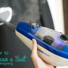 How to Steam a Suit