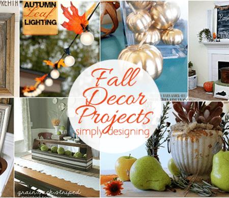 Fall Home Decor Project Ideas