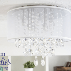 Craft Room Chandelier