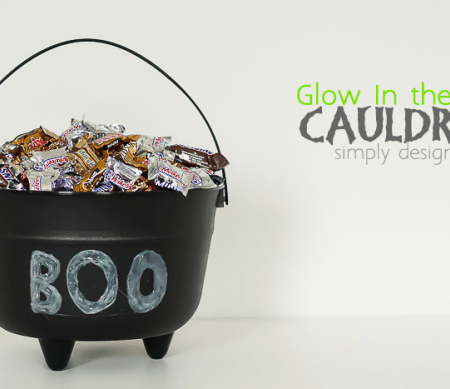 How to make a Glow in the Dark Cauldron
