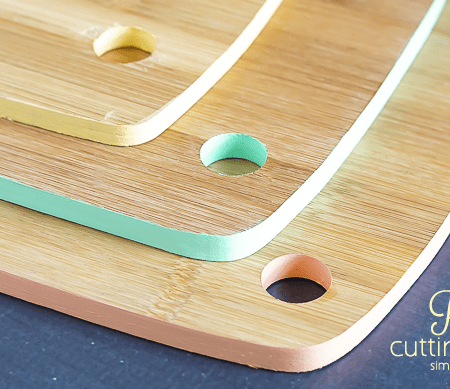 How to Paint Cutting Boards