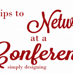 11 tips to network at a conference - these are simple tips to help make the most out of your business trip