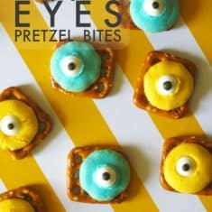 Monster Eyes Pretzels