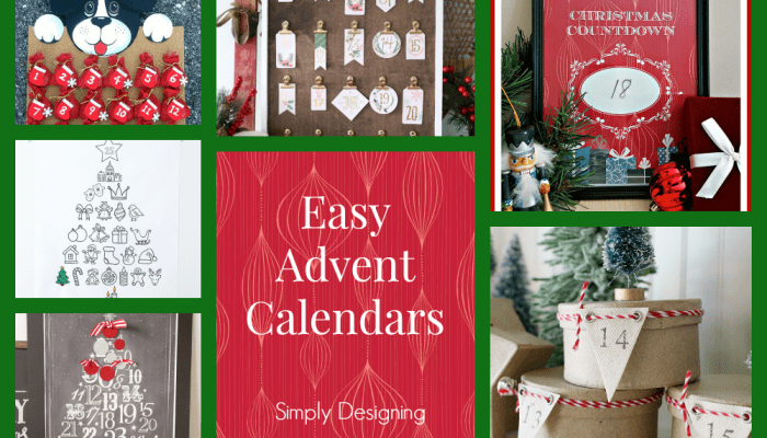 Advent Calendars for Christmas Countdown