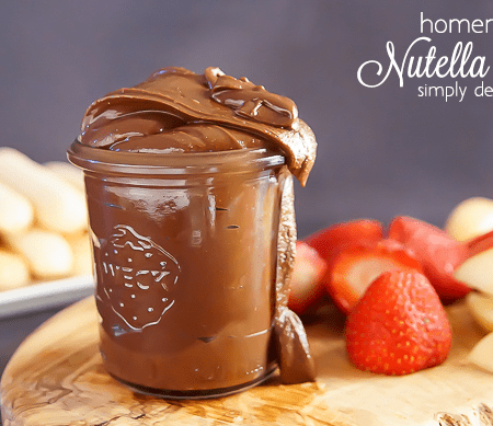 Nutella Recipes | How to Make Homemade Nutella