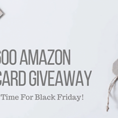 $600 Amazon Gift Card Giveaway