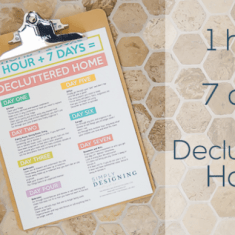 Declutter Your Home in 7 Hours