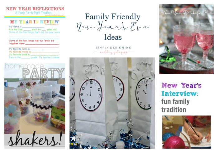 Family Friendly New Year\'s Eve Ideas