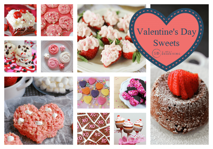 valentines day sweets - Valentines Day Sweets