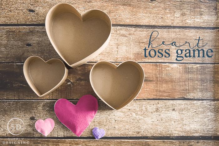 Heart Toss Game