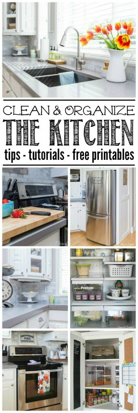 How-to-Clean-and-Organize-the-Kitchen-Title