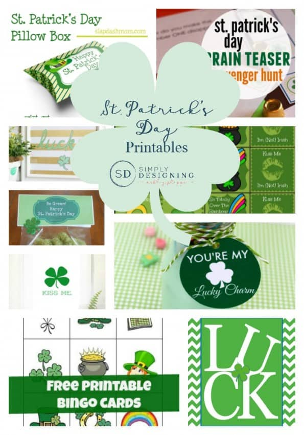 St Patrick's Day Printables