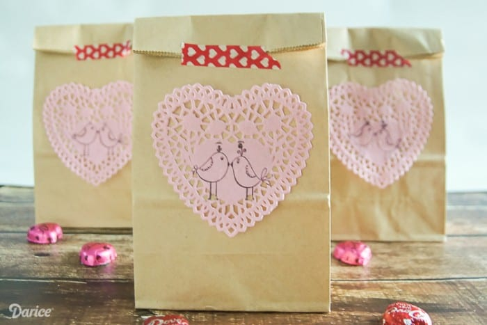Diy Valentines Day Treat Bags
