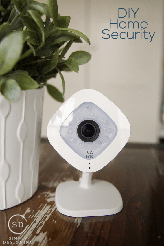 DIY Home Security System - Part 2 - sharing all about how we keep our home secure in the inside and outside