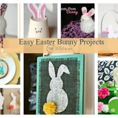 Easy Easter Bunny Projects