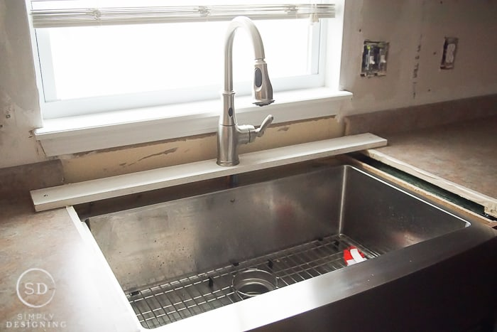 Kitchen Sink Remodel