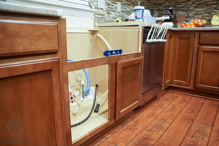 Kitchen Makeover How To Install And Backsplash Sink And Cabinet