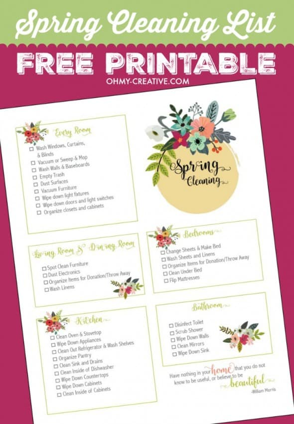 Spring-Cleaning-Checklist-Free-Printable-