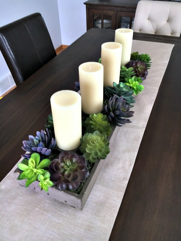 spring-succulent-garden-idea-planter-with-candles