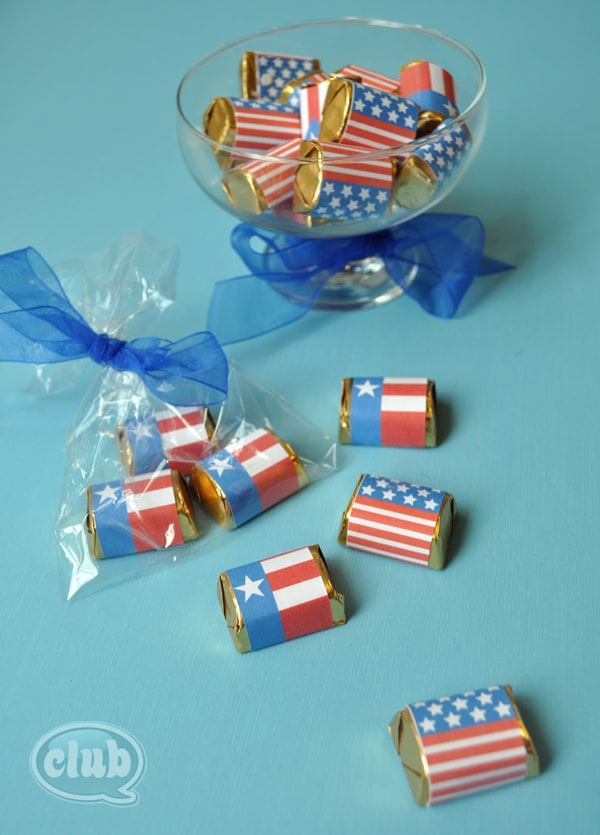 Chocolate-flags