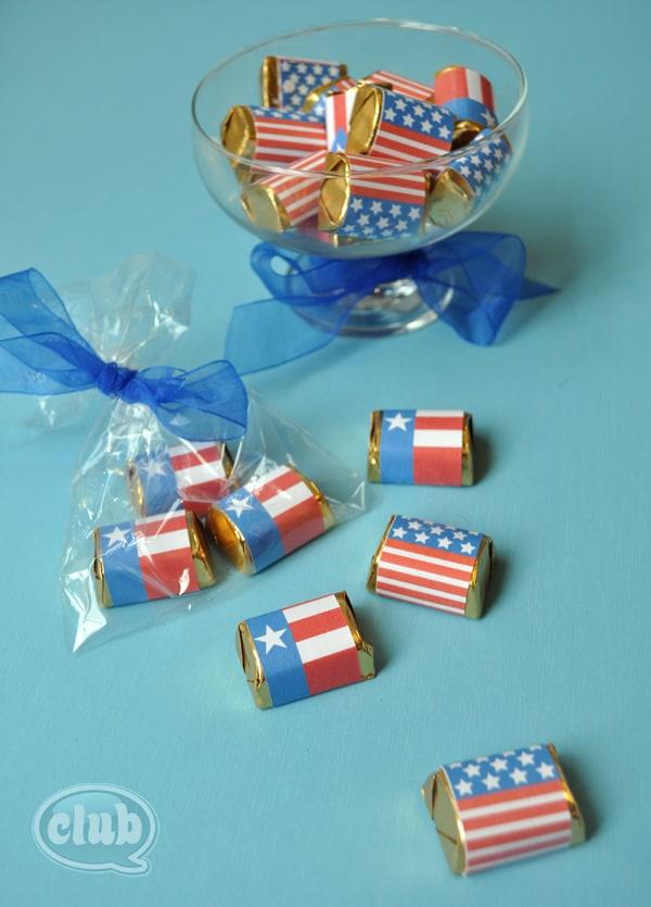 Chocolate-flags