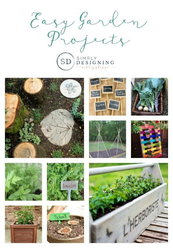 Easy Garden Projects - SimplyDesigning.net