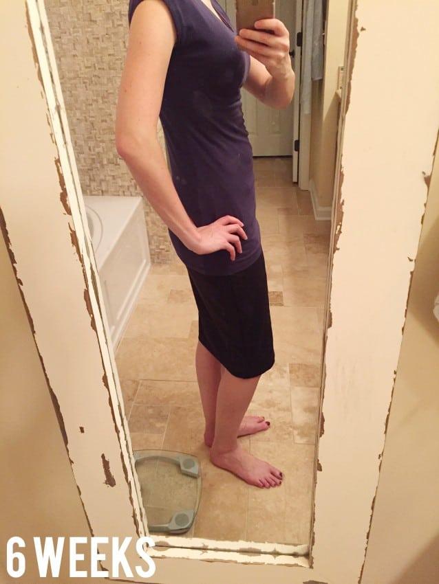 6 weeks pregnant