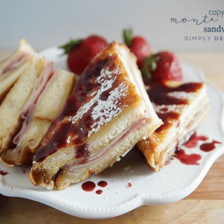 Copycat Monte Cristo Sandwich - a delicious sandwich you can easily make at home