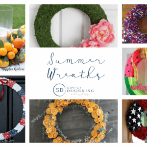 Summer Wreaths | SimplyDesigning.net