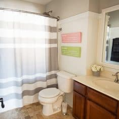 Kids Bathroom Makeover - after