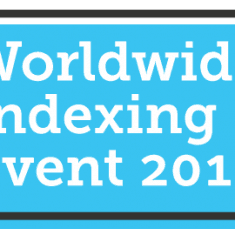 Online FamilySearch Worldwide Indexing Event 2016