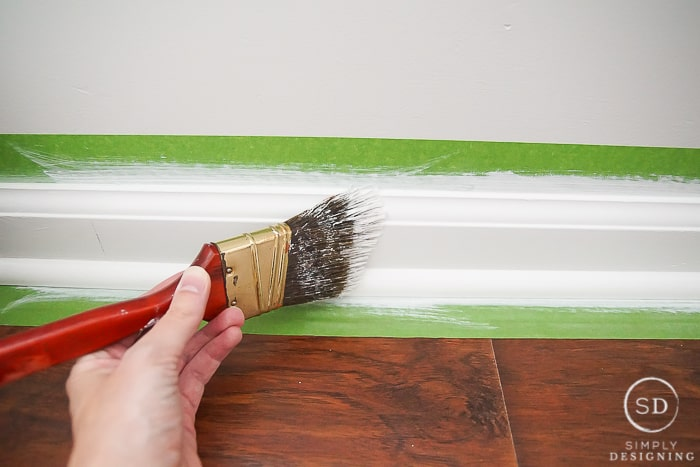 How To Paint Trim Without Messing Up