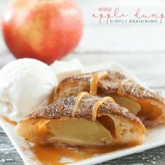 Caramel Apple Dumpling Recipe