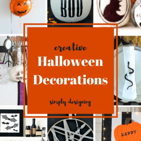 Creative Ideas for Halloween Decor