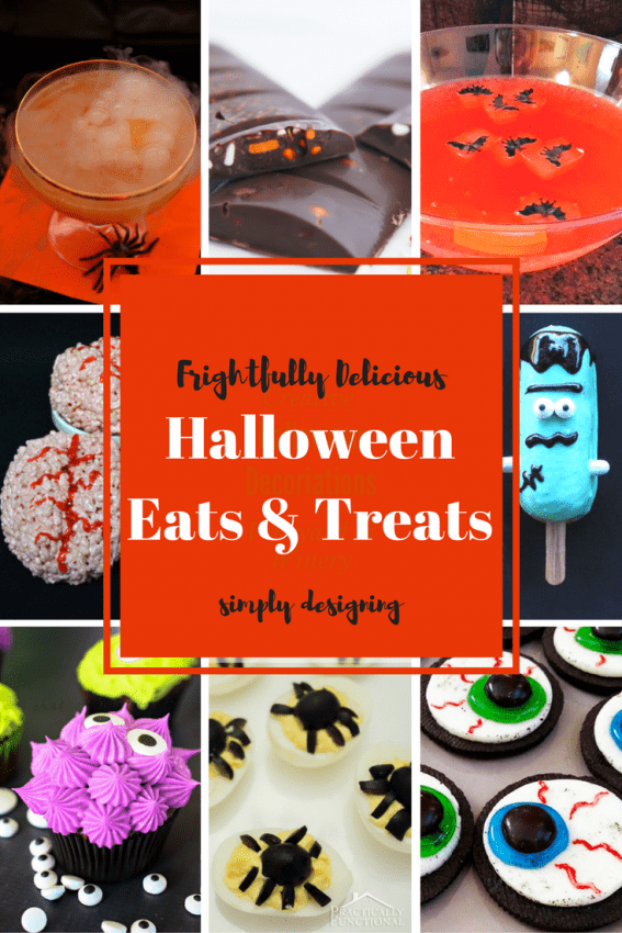 Frightfully fun and delicious Halloween Eats and Treats   Simply Designing