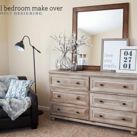 Industrial Bedroom Make Over