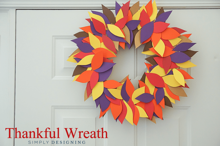Simply Thankful Wreath