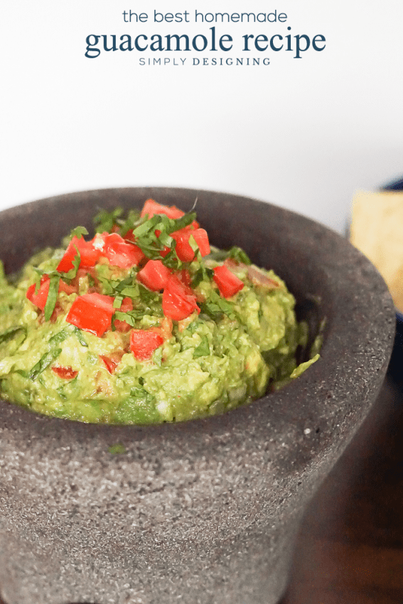 homemade guacamole recipe the best guacamole recipe 30798