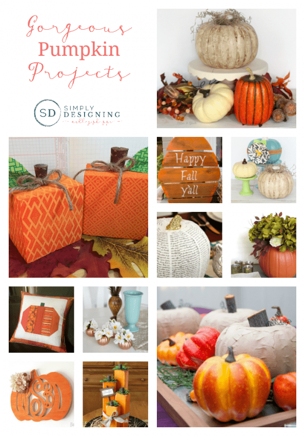 Gorgeous Pumpkin Projects for Fall