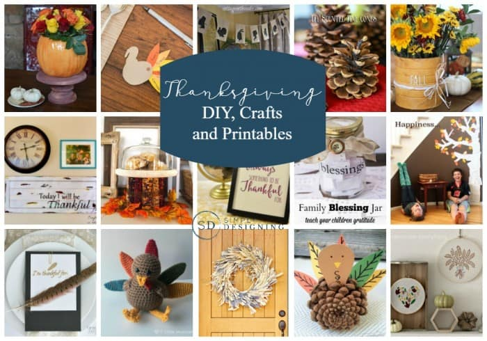 graphic relating to Blessings Jar Printable referred to as Thanksgiving Crafts, DIYs and Printables