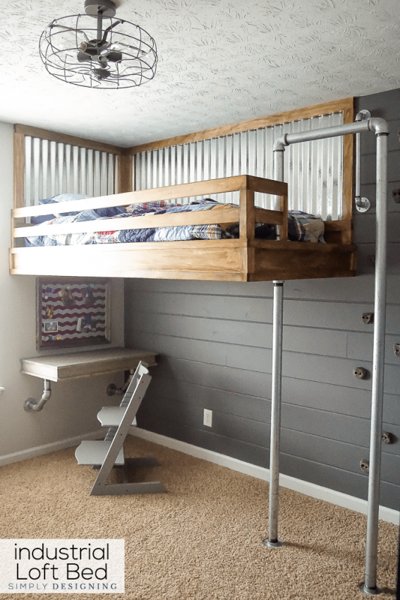Girls Loft Bed Walmart