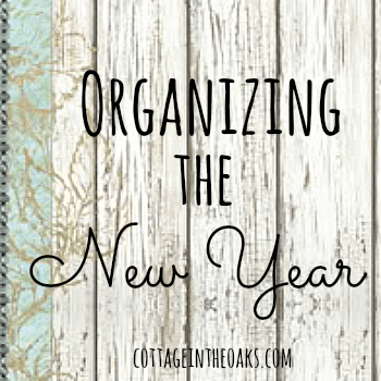 Organizational Ideas for the New Year