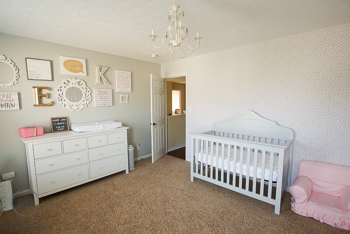 Awesome Shared Girls Bedroom And Baby Nursery Reveal