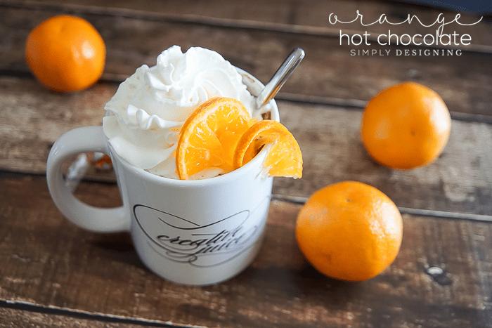 orange hot chocolate recipe - lindt hot chocolate